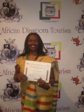 COBATI receives 2013 African Diaspora Tourism Award