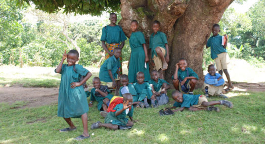 Kids at Bombo Village Uganda