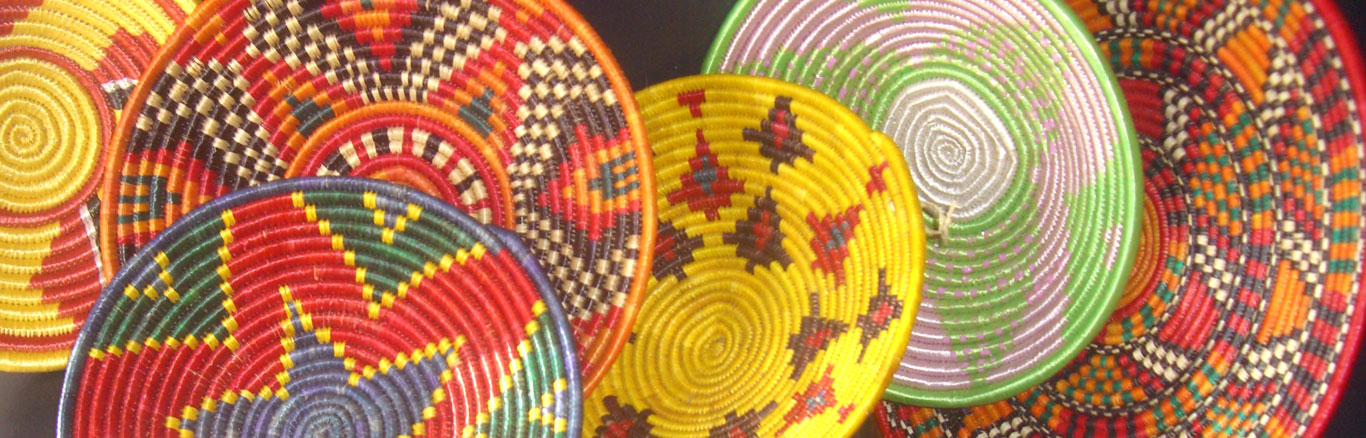 Nubian baskets
